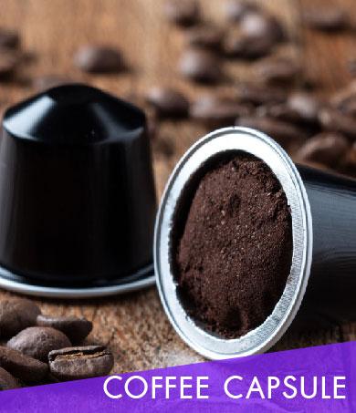 อาหารเสริมรูปแบบกาแฟแคปซูล